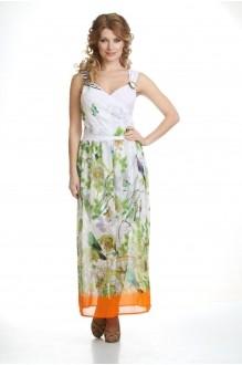 Лиона-Стиль 435 белый/оранжевый снизу