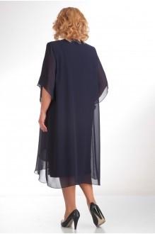 Вечернее платье Прити 343 темно-синий фото 2