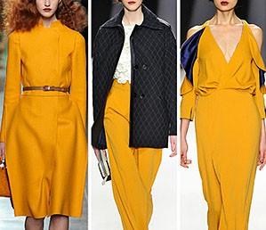 Модная горчица: 7 осенних образов