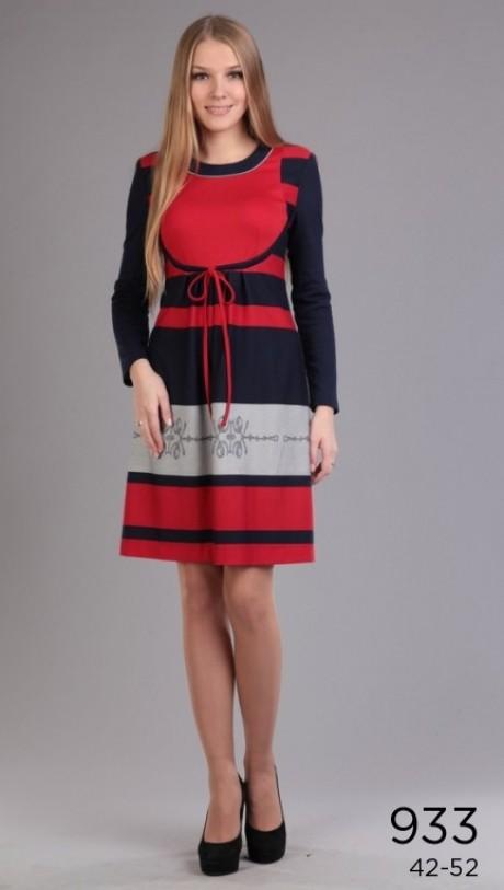 Повседневное платье Эола-стиль 933