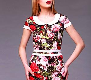 Цветы на одежде: приближаем весну