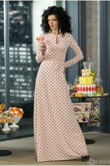 Длинное платье Твой Имидж 2014 розовый фото 1