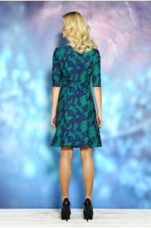 Вечернее платье ALANI COLLECTION 246 синий/зеленый фото 2