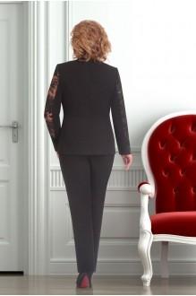 Брючный костюм /комплект Ksenia Stylе 1247 черный фото 2