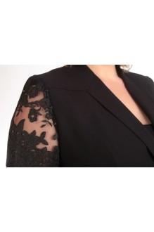 Брючный костюм /комплект Ksenia Stylе 1247 черный фото 3