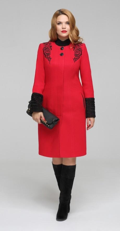 Пальто ЛаКона 797s красный