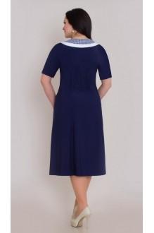 Повседневное платье Галеан-стиль 266 синий  фото 2