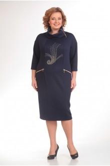 Повседневное платье Прити 398 темно-синий фото 1
