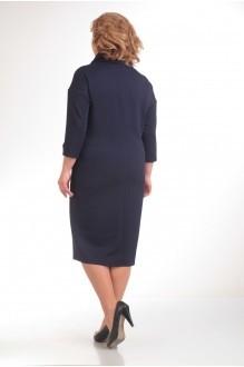 Повседневное платье Прити 398 темно-синий фото 2