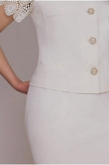 Юбочный костюм /комплект Галеан-стиль 452 беж фото 3