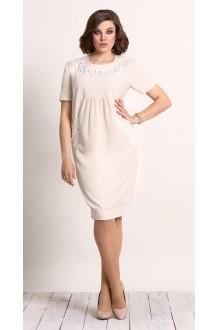 Повседневное платье Галеан-стиль 450 бежевый фото 1