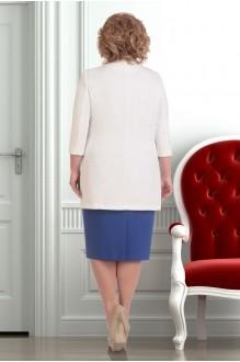 Юбочный костюм /комплект Ksenia Stylе 1251 синий фото 2