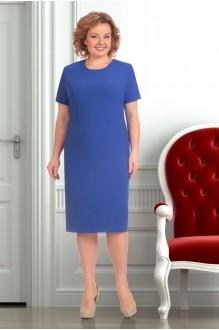 Юбочный костюм /комплект Ksenia Stylе 1251 синий фото 3