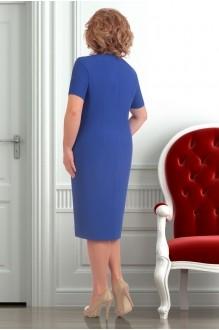 Юбочный костюм /комплект Ksenia Stylе 1251 синий фото 4