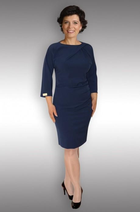 Повседневное платье Таир-Гранд 6519 т.синий