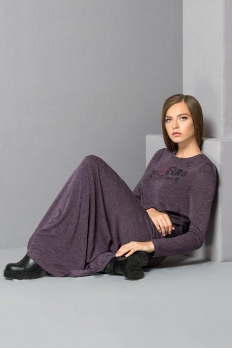 Длинное платье Golden Vallеy 46114 темно-розовый