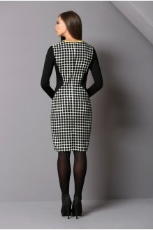 Повседневное платье Golden Vallеy 4180 черный/ белый фото 3