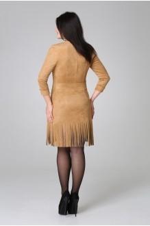 Повседневное платье Нинель Шик  5383 беж фото 2