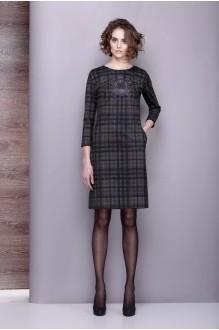 Повседневное платье Golden Vallеy 4197 серо-оливковый фото 1