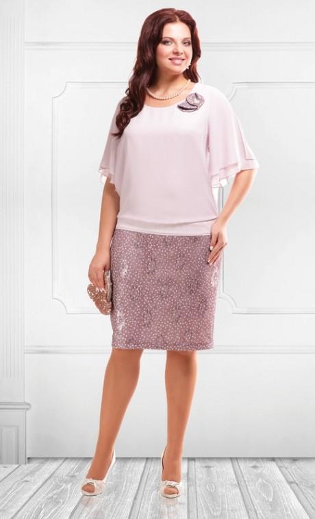 Вечернее платье Camelia 1580 розовый