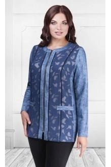 Жакеты (пиджаки) Camelia 15101 (2) синий сетка фото 1