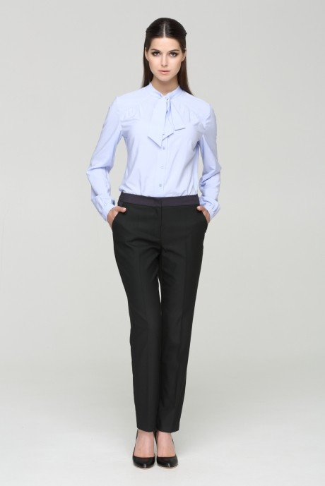 Блузки и туники Nova Line 2445 голубой