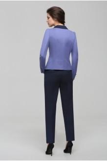 Брючные костюмы /комплекты Nova Line 1441.4172 Сиренивый/Чёрный фото 2