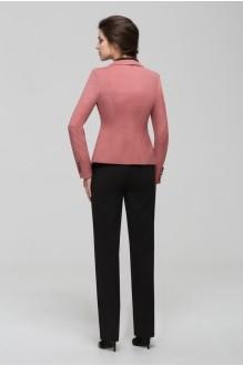Брючный костюм /комплект Nova Line 1400.4154 Розовый/Чёрный фото 2