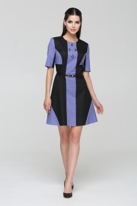Деловые платья Nova Line 5383 сиреневый