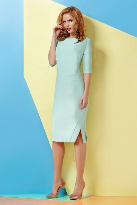 Повседневное платье Люше 1169 мята