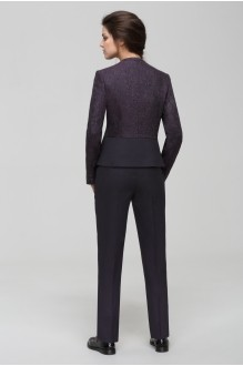 Брючные костюмы /комплекты Nova Line 1432.4171 баклажан  фото 2
