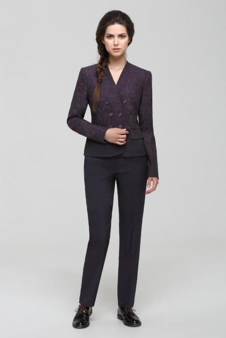 Брючные костюмы /комплекты Nova Line 1432.4171 баклажан