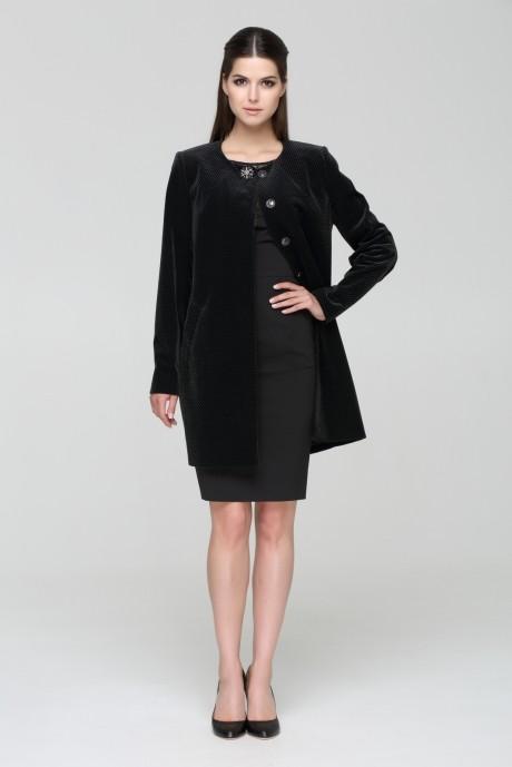 Пальто Nova Line 1563 черный