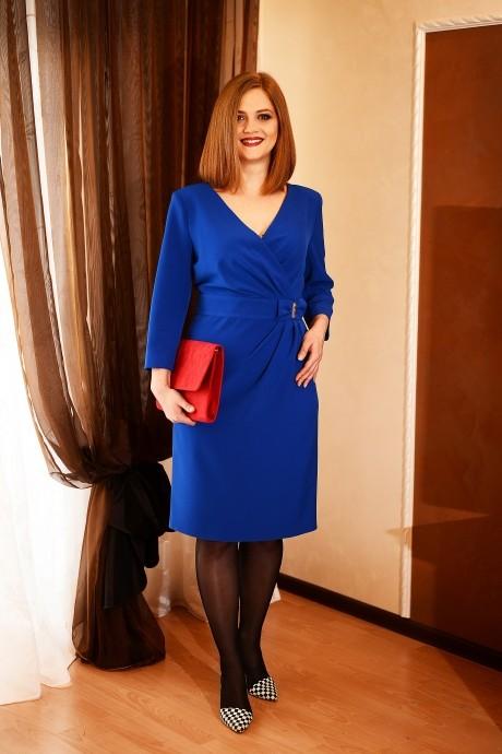Вечернее платье Ладис Лайн 683 синий