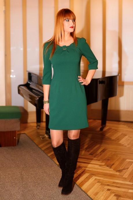 Вечернее платье Ладис Лайн 473 зеленый