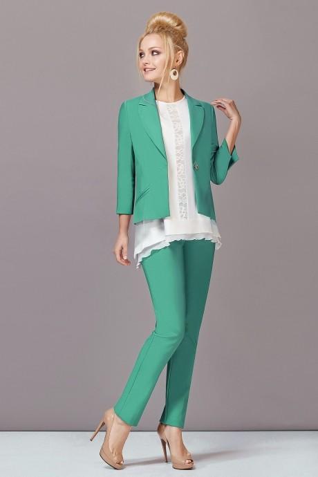 Брючный костюм /комплект Lady Secret 2393 зелёный
