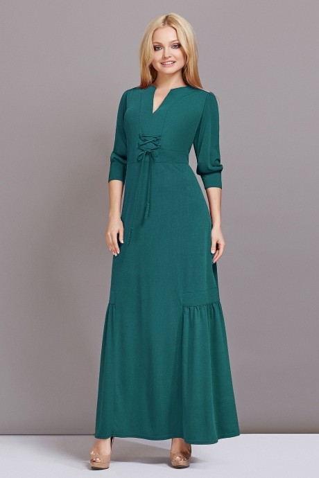 Длинное платье Lady Secret 3332 бирюза