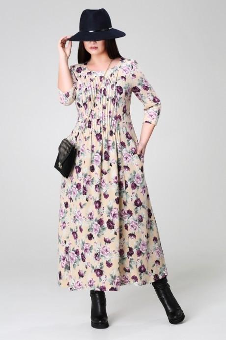 Длинное платье Анна 903 ангора