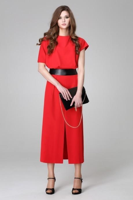 Вечерние платья Анна 899 красный