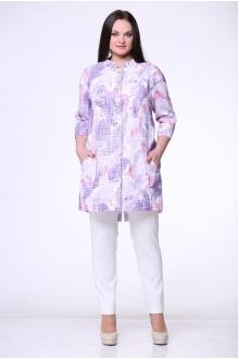 Жакеты (пиджаки) ЮРС 15-498с фиолетовый  фото 1