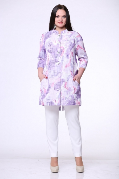 Жакет (пиджак) ЮРС 15-498с фиолетовый