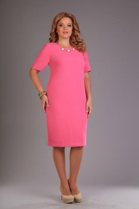 Вечернее платье Джерза 1324 розовый