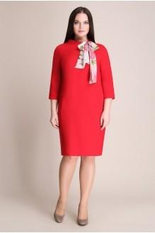 Деловое платье Магия Моды 935 красный фото 2