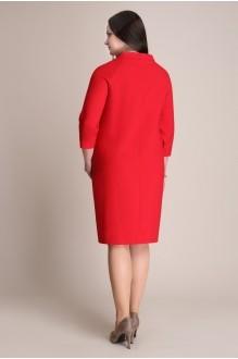 Деловое платье Магия Моды 935 красный фото 3
