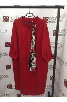 Деловое платье Магия Моды 935 красный фото 4
