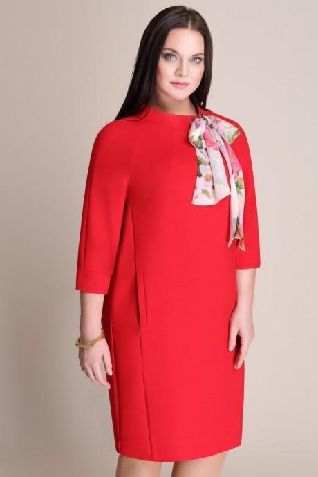 Деловое платье Магия Моды 935 красный