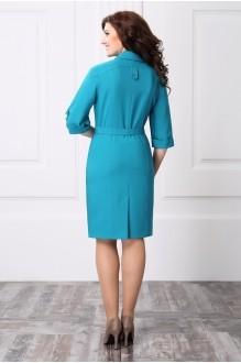 Повседневное платье ЛаКона 918 бирюза фото 2