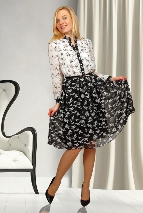 Деловое платье МиА-Мода 688