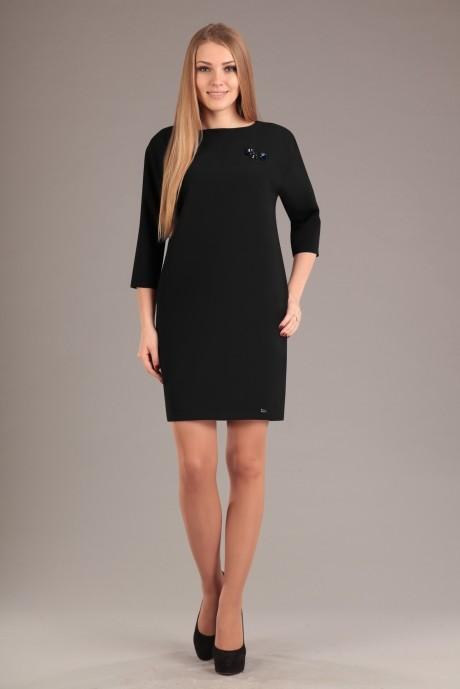 Повседневные платья Эола-стиль 1199 черный