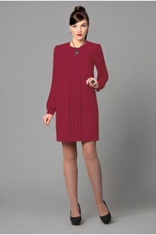 Вечернее платье Runella 1155 бордо/винный фото 1